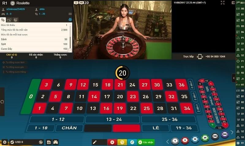 game-bai-roulette-fun88