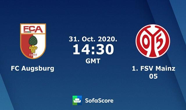 Soi kèo bóng đá trận Augsburg vs Mainz 05, 21h30 – 31/10/2020