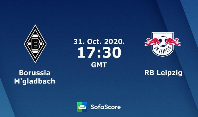 Soi kèo bóng đá trận Borussia M'gladbach vs RB Leipzig, 0:30 – 01/11/2020
