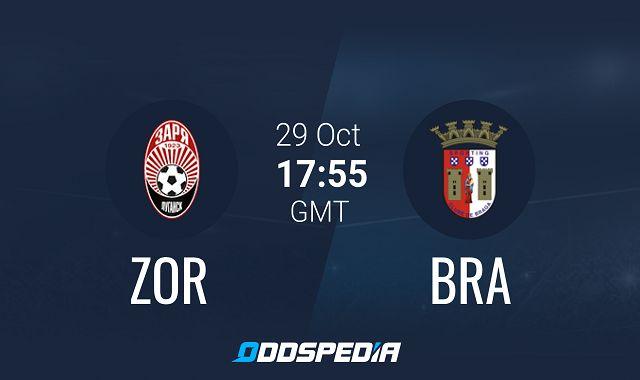 Soi kèo bóng đá trận FK Zorya Luhansk vs Braga, 0:55 – 30/10/2020