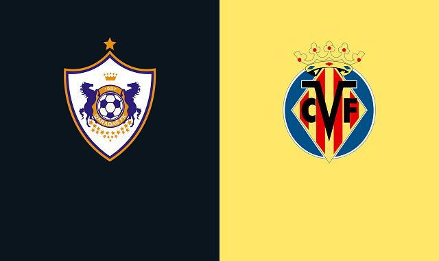 Soi kèo bóng đá trận Qarabag vs Villarreal, 0:55 – 30/10/2020