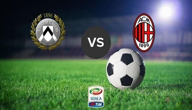 Soi kèo bóng đá trận Udinese vs AC Milan, 18:30 – 1/11/2020