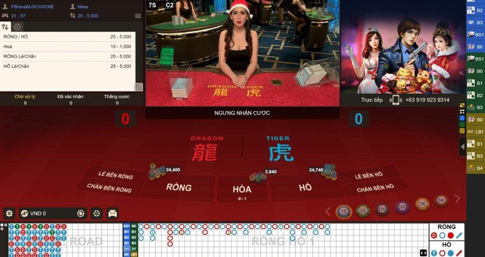 Dragon Tiger – Hướng dẫn chơi game bài rồng hổ tại Fun88 Casino