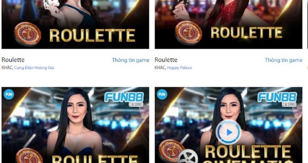 Roulette – Hướng dẫn cách đánh game bài Roulette tại Fun88 Casino