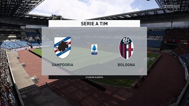 Soi kèo bóng đá trận Sampdoria vs Bologna, 21h00 – 22/11/2020