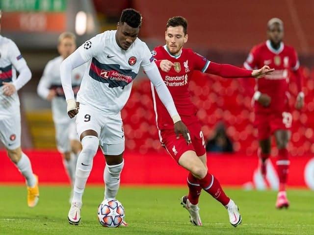 Soi kèo bóng đá trận Midtjylland vs Liverpool, 00:55 – 10/12/2020
