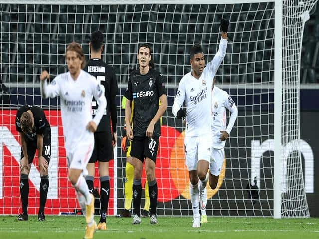 Soi kèo bóng đá trận Real Madrid vs Borussia M'gladbach, 03:00 – 10/12/2020