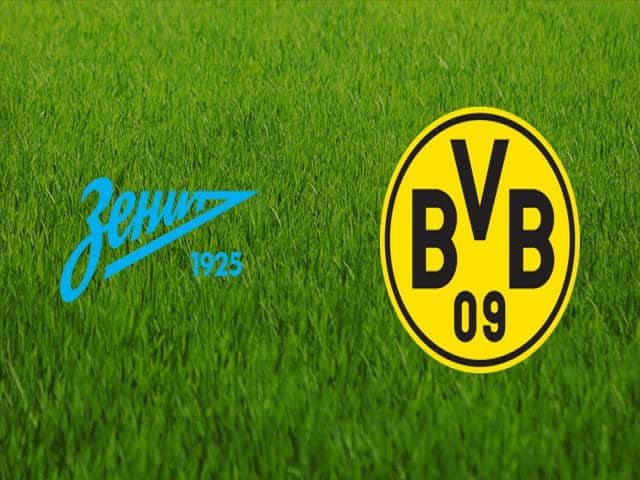 Soi kèo bóng đá trận Zenit vs Borussia Dortmund, 00:55 – 09/12/2020