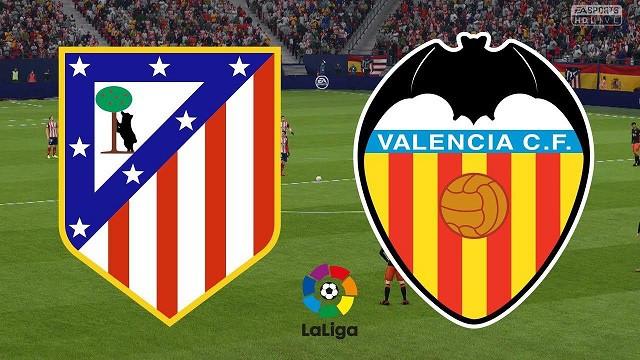 Soi kèo bóng đá trận Atletico Madrid vs Valencia, 3h00 – 25/1/2021