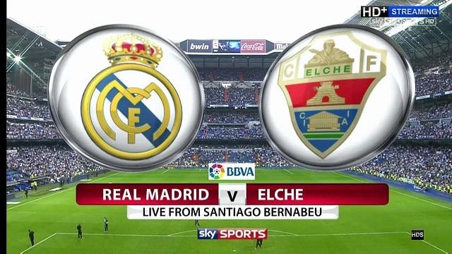 Soi kèo bóng đá trận Real Madrid vs Elche, 22:15 – 13/03/2021