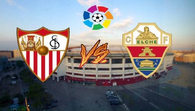 Soi kèo bóng đá trận Sevilla vs Elche, 1:00 – 18/03/2021