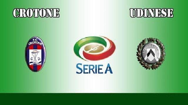 Soi kèo bóng đá trận Crotone vs Udinese, 20:00 – 17/04/2021