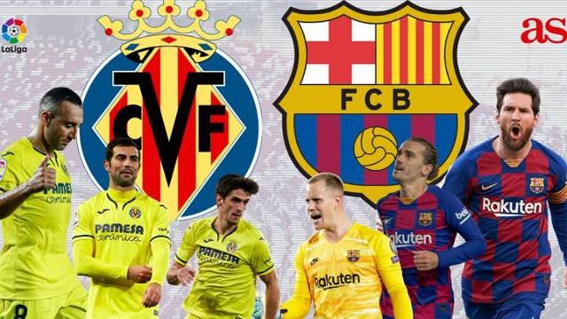 Soi kèo bóng đá trận Villarreal vs Barcelona, 21:15 – 25/04/20210