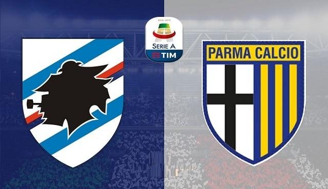 Soi kèo bóng đá trận Sampdoria vs Parma, 1:45 – 23/05/2021