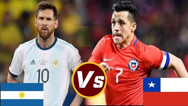 Soi kèo bóng đá trận Argentina vs Chile, 4:00 – 15/06/2021