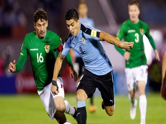 Soi kèo bóng đá trận Bolivia vs Uruguay, 04:00 – 25/06/2021