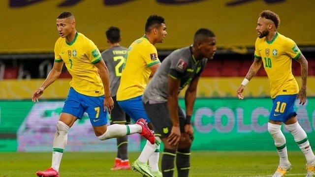 Soi kèo bóng đá trận Ecuador vs Brazil, 4:00 – 28/06/2021