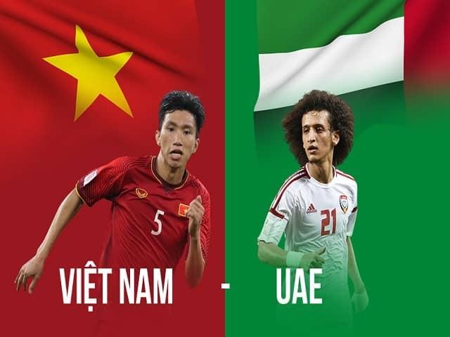 Soi kèo bóng đá trận Việt Nam vs UAE, 23:45 – 15/06/2021