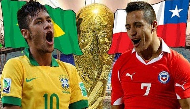 Soi kèo bóng đá trận Brazil vs Chile, 7h00 – 03/07/2021